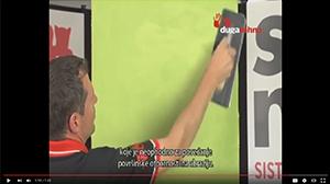 Tehnika nanošenja Granito Grigio