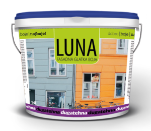 luna glatka fasadna boja farba za fasade